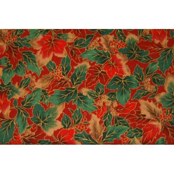 Rød-grønne blade